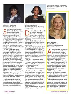 Joyce Salzberg Featured - Women Leadership Mag USA - March 2021