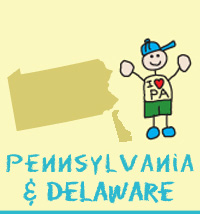 pennsylvania and delaware states